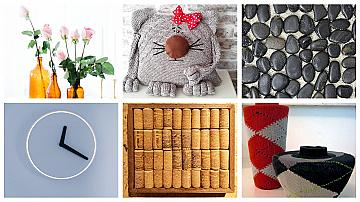 6 лесни и нискобюджетни идеи за декорация на дома