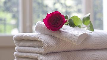 Малък трик за изпиране на замърсени кухненски кърпи