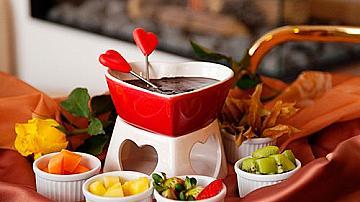 Лесна рецепта за шоколадово фондю за Свети Валентин
