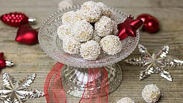 Да си направим домашни бонбони Рафаело