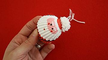 Да си направим Дядо Коледа от миди сърцевидки