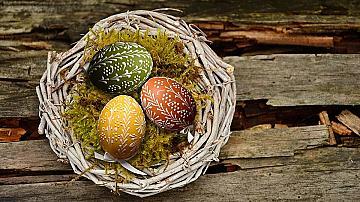 И съседката ще ви завиди на тези великденски яйца украсени с пудра захар