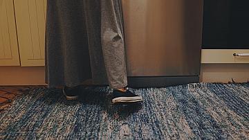 Как да направим страхотен килим от стари дрехи