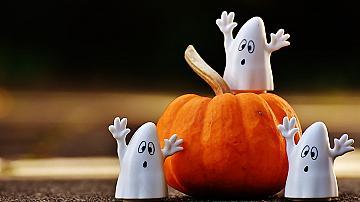 Декорация на тиква и предмети за Хелоуин