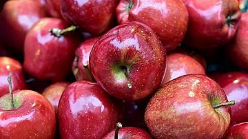 Нестандартни чаши за парти от ябълки