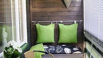 Няколко страхотни идеи за остъклен балкон