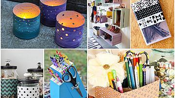 18 идеи как да превърнем непотребни предмети в полезни и красиви неща