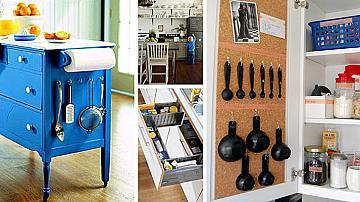 12 лесни идеи за подредба в малката кухня
