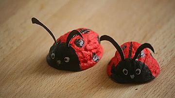 Забавни животни от орехови черупки