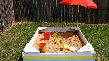 Няколко страхотни идеи за детски пясъчник
