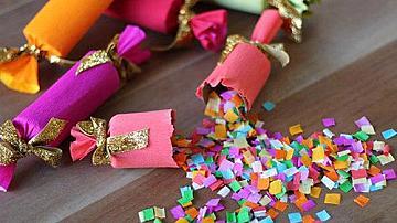 Конфети във формата на бонбони за парти или рожден ден