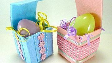 Красива кутийка за великденско яйце