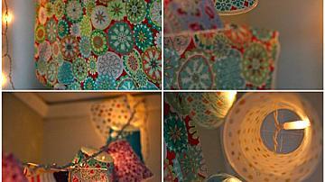 Ефектни лампиони от пластмасови чаши