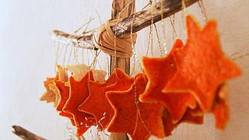 Да си направим ароматна, мандаринова украса за дома