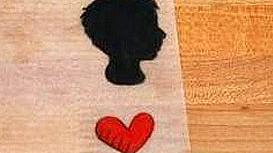 Медальон силует на любим човек за Свети Валентин