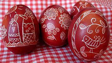 Да си направим надраскани яйца за Великден