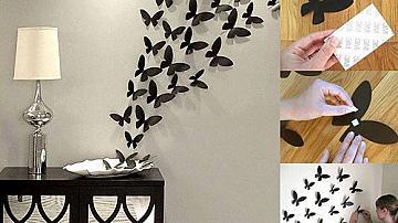 Ято пеперуди на стената
