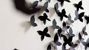 Пеперуди в интериора: дизайнерски идеи