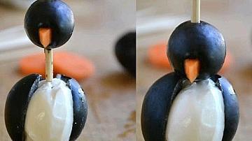 Пингвинчета от маслинки