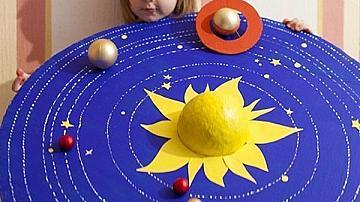 Ето няколко хитри идеи как да обясните слънчевата система на децата си