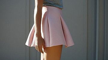 Модна идея: да си направим пола от неопрен