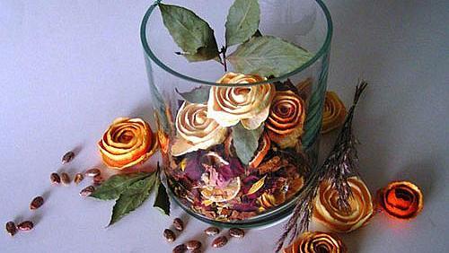 Портокалови рози