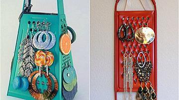 Поставка за обеци от кухненско ренде