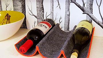 Две лесни идеи за поставки за вино