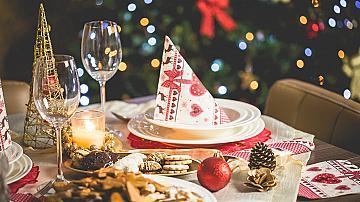 3 идеи за красива новогодишна трапеза