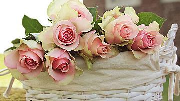 Гирлянда от рози