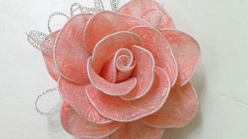 Да си направим рози от найлонови торбички