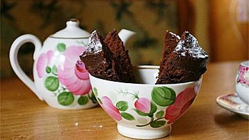 Шоколадово кексче в микровълновата за 5 минути!