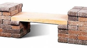 Направете си скамейка за 30 минути