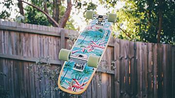 Детска люлка от скейтборд