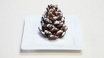 Сладки шоколадови шишарки за Коледа