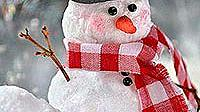 Как да си направим снежен човек от памук