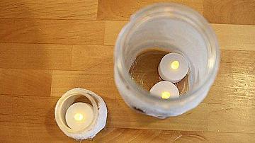 Да си направим свещници - мумии за Хелоуин
