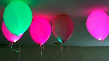 Как да си направим светещи балони