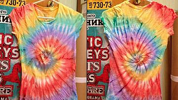 Да си направим страхотна тениска с техниката Tie-dye