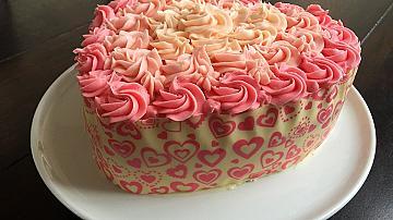 Как да си направим тортa сърце без форма