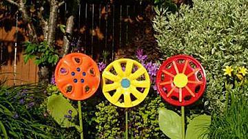 Цветя от тасове