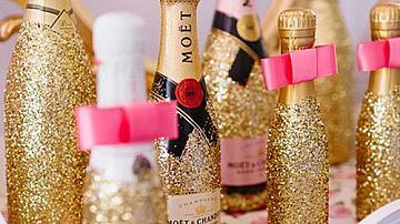 Да украсим бутилките за празника