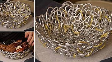 Великденска кошничка за украса от силикон