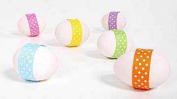 Интересни начини за декориране на великденски яйца без боядисване