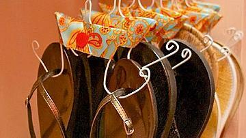 Как да си направим закачалки за чехли